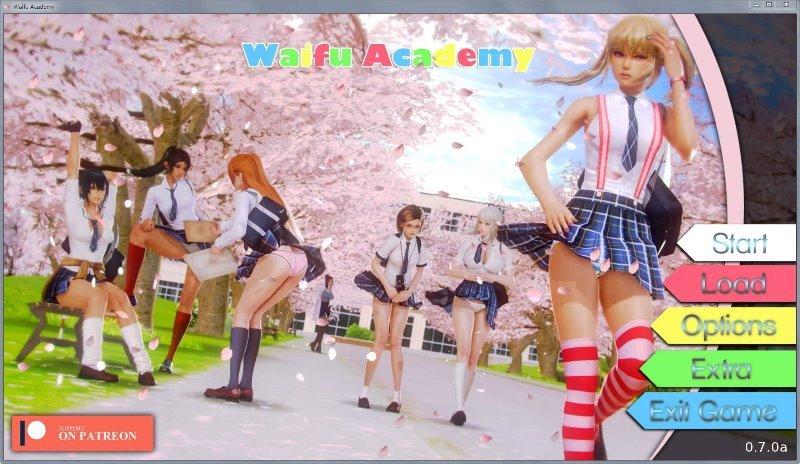 二次元老婆学院Waifu Academ Ver0.70A PC+手机安卓版 汉化下载